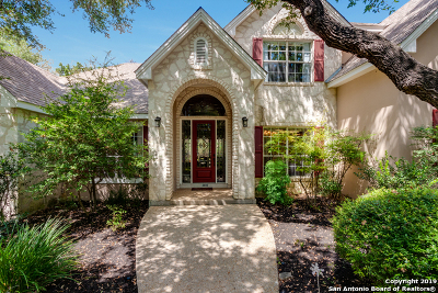 Helotes Single Family Home Active Option: 13835 Magnolia Way
