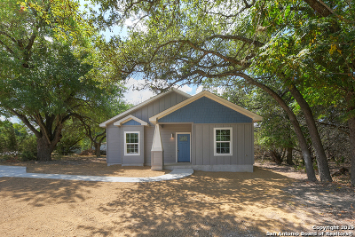 Canyon Lake Single Family Home Price Change: 535 Paradise Dr