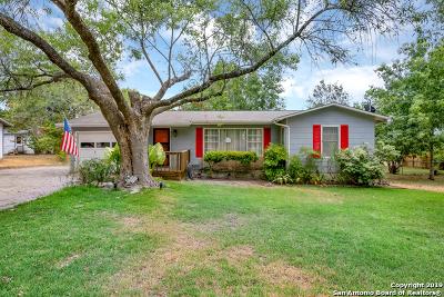 New Braunfels Single Family Home Price Change: 1126 Dunlap Dr