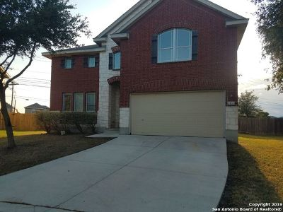 Cibolo Single Family Home For Sale: 104 Lookout View