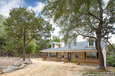 Canyon Lake Single Family Home For Sale: 153 Sunrise Dr
