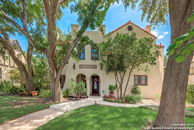 San Antonio Single Family Home Price Change: 112 W Ridgewood Ct