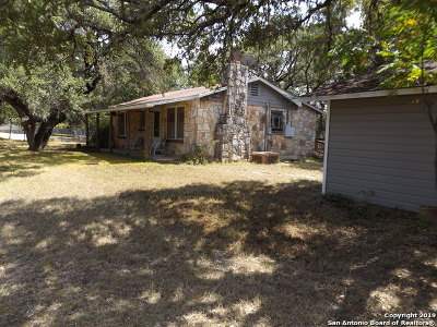 Bandera County Single Family Home Active Option: 749 Red Bud