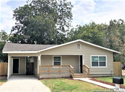 Universal City Single Family Home Active Option: 418 W Wright Blvd