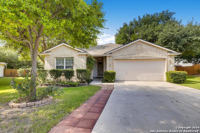 Schertz Single Family Home Active Option: 3901 Stormy Brook