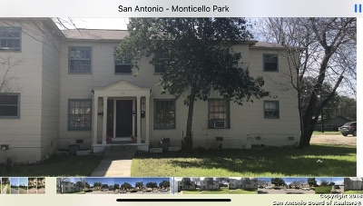 Bexar County Multi Family Home Active Option: 734 Donaldson Ave