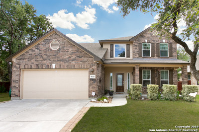 Helotes Single Family Home Active Option: 9042 Western View