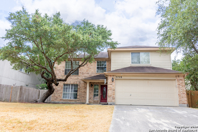 Schertz Single Family Home Price Change: 3728 Limestone Mesa