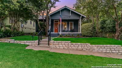 Alamo Heights Single Family Home Active Option: 105 Joliet Ave
