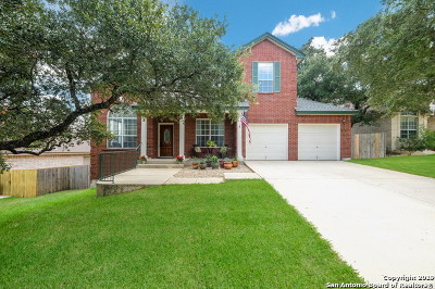 Stone Oak Single Family Home New: 415 Toyah Brook