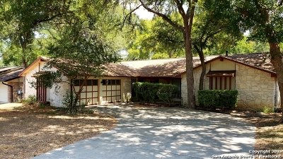 Universal City Single Family Home Active Option: 129 Forrest Trail