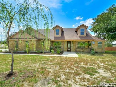 Floresville Single Family Home New: 136 Abrego Lake Dr