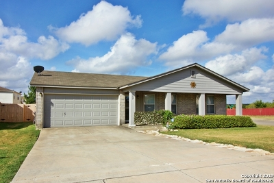 New Braunfels Single Family Home Active Option: 667 Crosspoint Dr