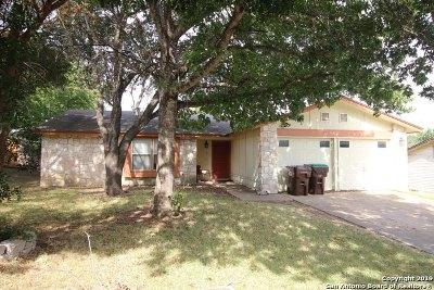 Converse Single Family Home New: 7111 Apache Ridge