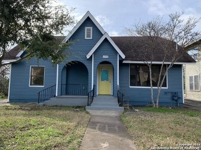 San Antonio Single Family Home New: 1718 W Woodlawn Ave