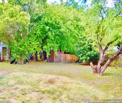 San Antonio Residential Lots & Land New: 343 Laverne Ave