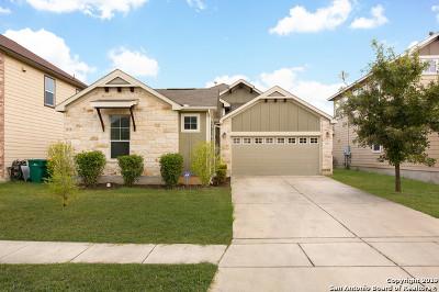 Converse Single Family Home New: 9915 Copper Rise