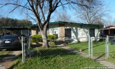 San Antonio Single Family Home New: 127 Idell Ave
