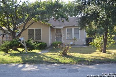 San Antonio Single Family Home New: 207 Neff Ave