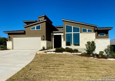 Boerne Single Family Home New: 12 Mancha