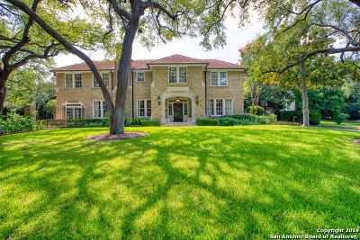 San Antonio Single Family Home New: 715 Contour Dr
