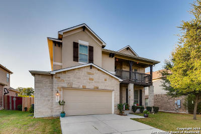 Cibolo Single Family Home New: 3109 Cameron River