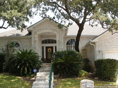 San Antonio Single Family Home New: 1422 Canyon Brook