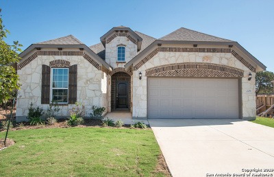 New Braunfels Single Family Home Price Change: 2251 Oak Run Parkway