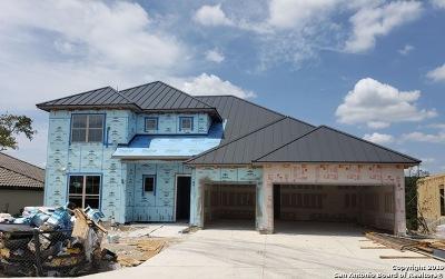 Bexar County Single Family Home New: 24015 La Tapiceria