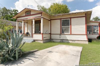 San Antonio Single Family Home New: 1911 Nolan St