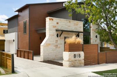 San Antonio Single Family Home New: 818 Martin Luther King Dr
