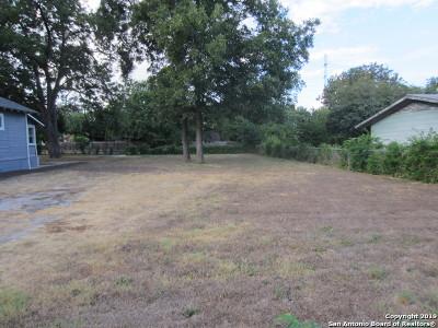 San Antonio Residential Lots & Land New