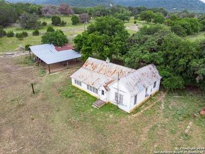 Bandera County Single Family Home New: 1403 Fm 2107 A