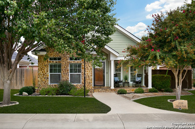 New Braunfels Single Family Home Active Option: 2226 Village Path