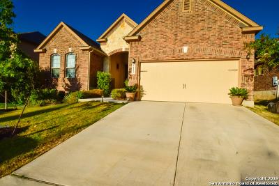 San Antonio Single Family Home New: 22126 Gypsy Hollow
