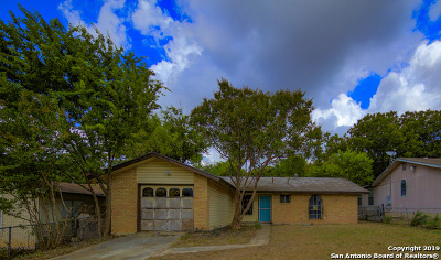 San Antonio Single Family Home New: 5323 Santa Cruz St