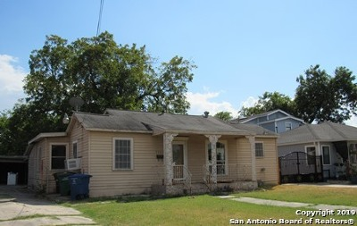 San Antonio Single Family Home New: 2922 W Ashby Pl