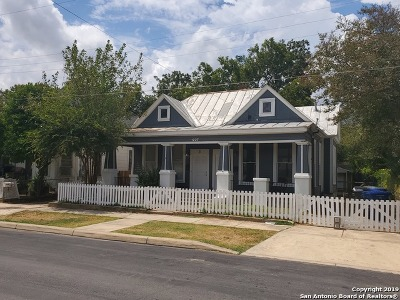 Bexar County Multi Family Home Active Option: 1227 Willow