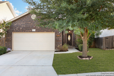 Helotes Single Family Home Active Option: 9830 Amberg Path