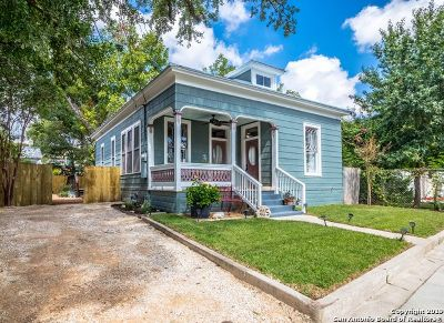 San Antonio Single Family Home New: 215 Nathan