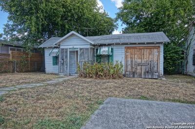 San Antonio Single Family Home New: 1805 Burnet St