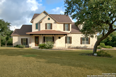 Canyon Lake Single Family Home New: 1877 Rush Creek