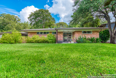 San Antonio Single Family Home New: 115 Downing Dr