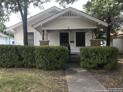 San Antonio Single Family Home New: 406 Rigsby Ave