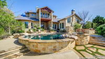 Boerne Single Family Home New: 314 Horseshoe Bend