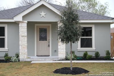 San Antonio Single Family Home New: 3322 Rhett Butler