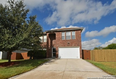 San Antonio Single Family Home New: 7923 Panther Pass