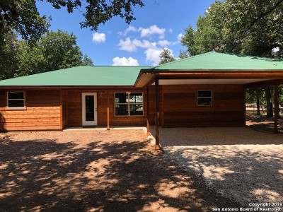 Bandera County Single Family Home Active Option: 321 San Antonio