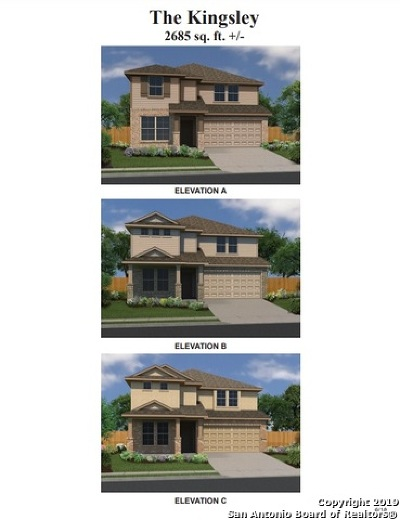 Converse Single Family Home New: 10230 Midsummer Meadows