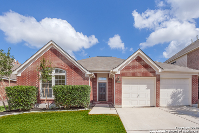 Stone Oak Single Family Home Active Option: 1303 Durbin Way